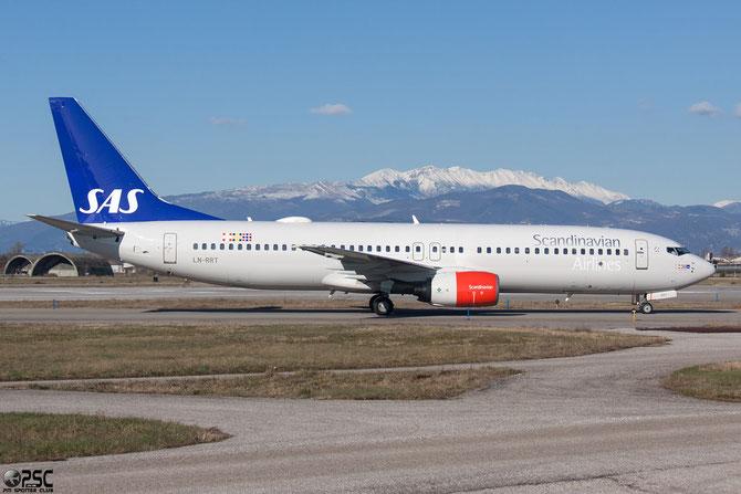 LN-RRT B737-883 28326/1036 SAS Scandinavian Airlines - Scandinavian Airlines System @ Aeroporto di Verona © Piti Spotter Club Verona