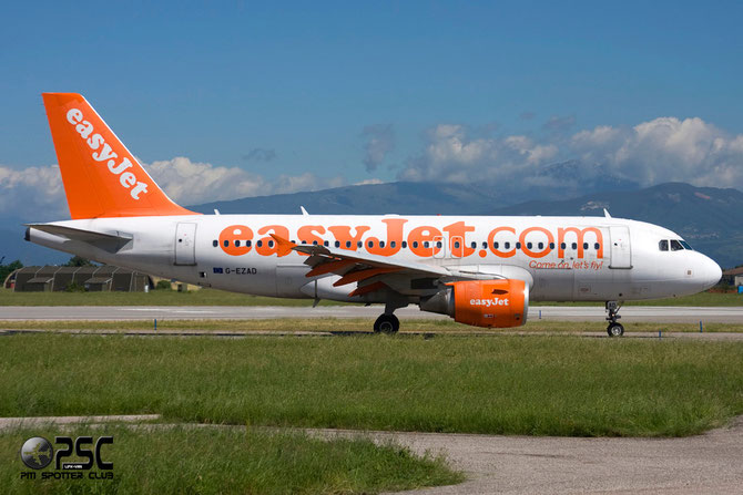 Airbus A319 - MSN 2702 - G-EZAD @ Aeroporto di Verona © Piti Spotter Club Verona