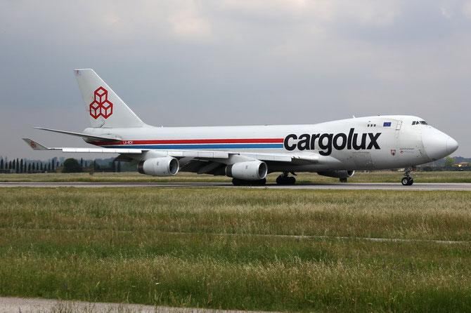 Boeing 747 - MSN 30400 - LX-RCV @ Aeroporto di Verona © Piti Spotter Club Verona