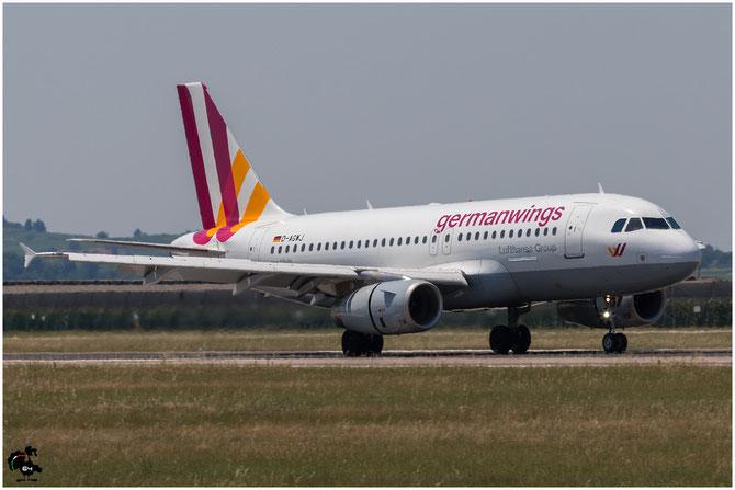 D-AGWJ A319-132 3375 Germanwings @ Aeroporto di Verona © Piti Spotter Club Verona