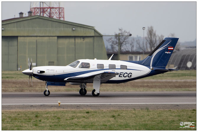 OE-ECG PA-46-500TP 4697495 Josef Gruber @ Aeroporto di Verona © Piti Spotter Club Verona