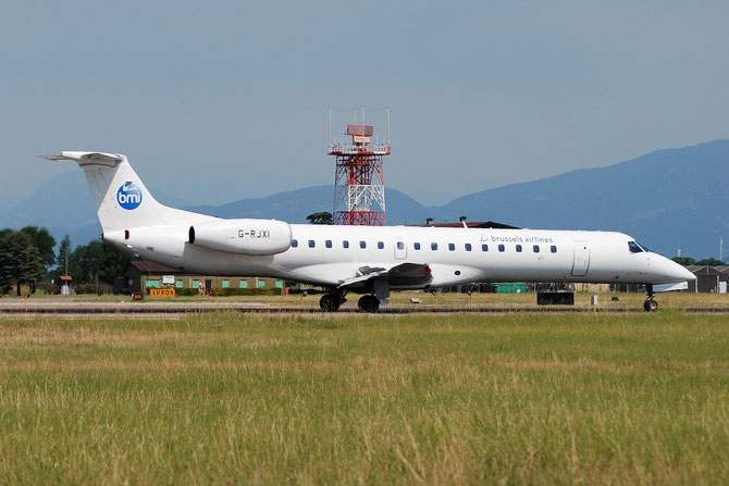 G-RJXI ERJ145EP 145454 Brussels Airlines @ Aeroporto di Verona © Piti Spotter Club Verona