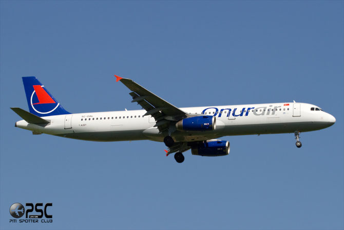 TC-OAL A321-231 1004 Onur Air