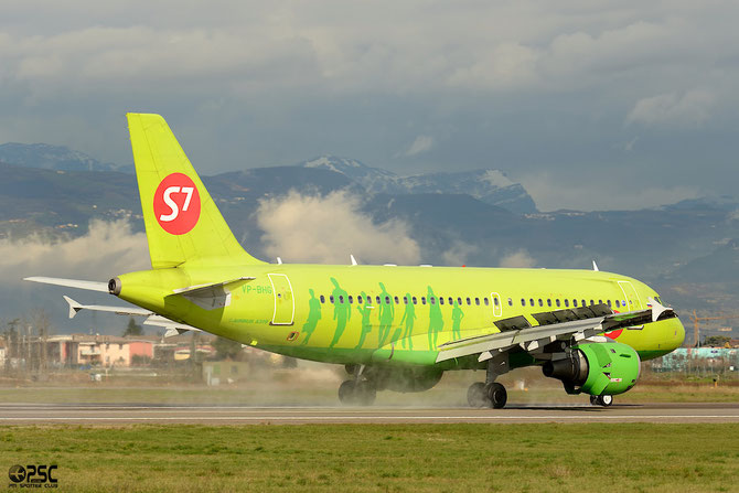 VP-BHG A319-114 1870 S7 Airlines