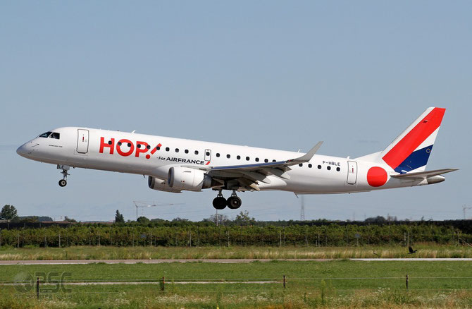 F-HBLE ERJ190LR 19000123 HOP!