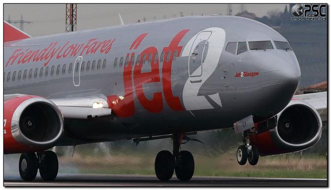 G-CELY B737-377QC 23662/1316 Jet2 @ Aeroporto di Verona © Piti Spotter Club Verona