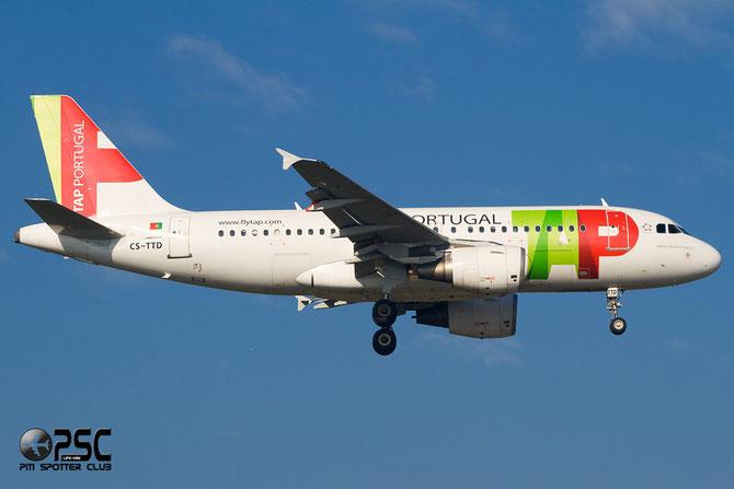CS-TTD A319-111 790 TAP Portugal - Transportes Aéreos Portugueses @ Aeroporto di Verona © Piti Spotter Club Verona