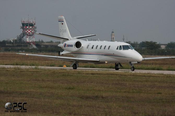 D-CAIR Ce560XLS 560-5620 Airtrans Flugzeugvermietungs GmbH  Opf Berner GmbH.