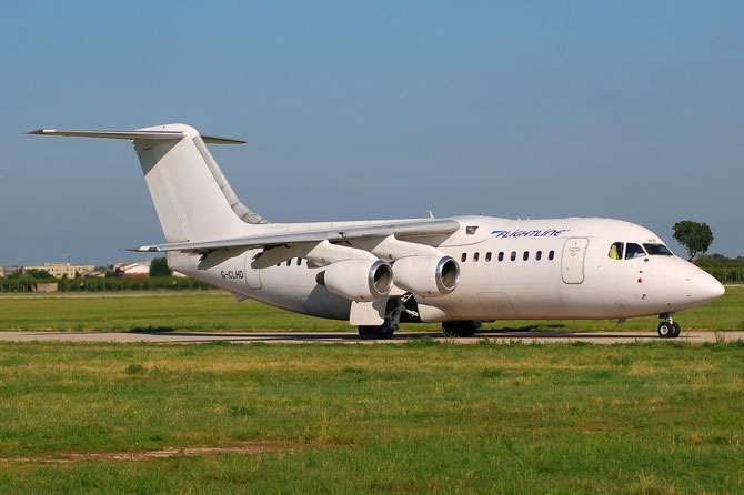 G-CLHD BAe146-200 E2023 Flightline (UK)