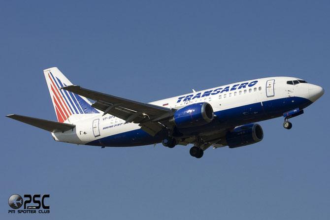 Boeing 737 - MSN 25037 - VP-BPA @ Aeroporto di Verona © Piti Spotter Club Verona