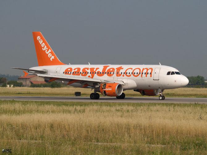 Airbus A319 - MSN 3845 - G-EZFG @ Aeroporto di Verona © Piti Spotter Club Verona