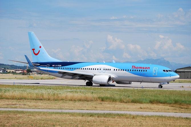 G-FDZB B737-8K5 35131/2242 Thomson Airways