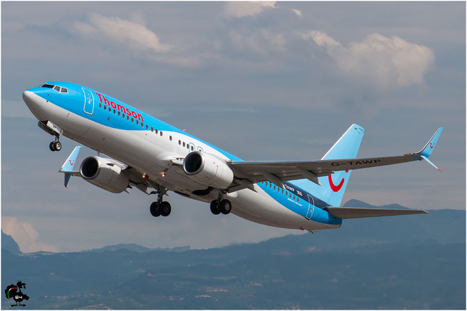 G-TAWP B737-8K5 37257/4412 Thomson Airways @ Aeroporto di Verona © Piti Spotter Club Verona