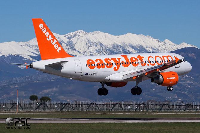 Airbus A319 - MSN 4125 - G-EZFR @ Aeroporto di Verona © Piti Spotter Club Verona