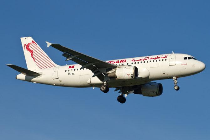 TS-IMK A319-114 880 Tunis Air @ Aeroporto di Verona © Piti Spotter Club Verona