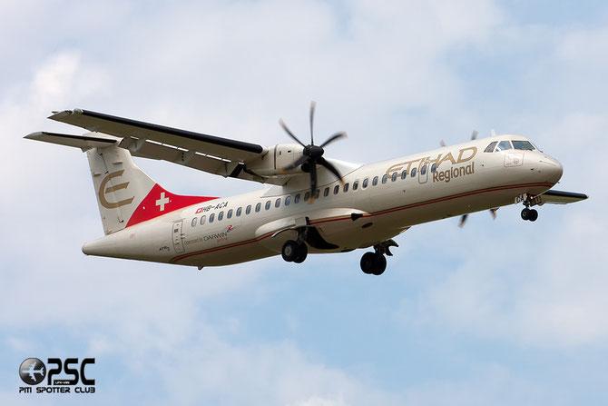 HB-ACA ATR72-212A 660 Darwin Airline 24apr14 opf Etihad Regional