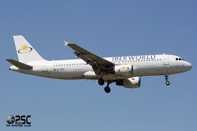 EC-HZU A320-214 1578 Iberworld Airlines