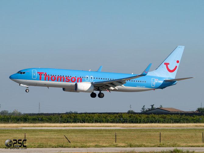 Boeing 737 Next Gen - MSN 37244 - G-TAWF  @ Aeroporto di Verona © Piti Spotter Club Verona