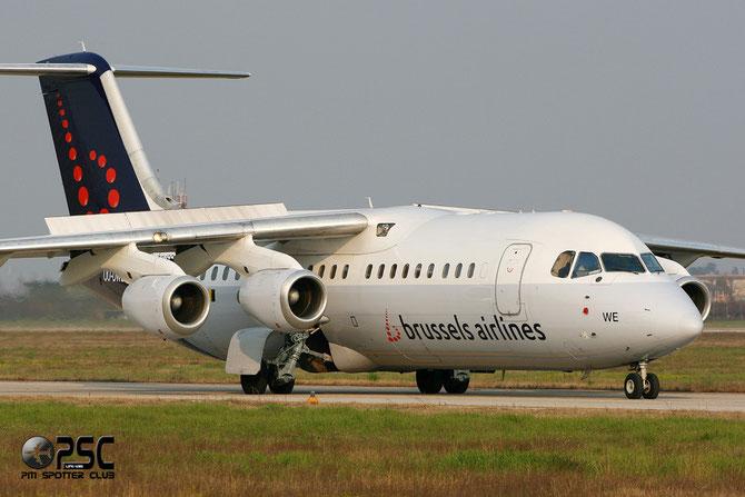 OO-DWE BAe146-RJ100 E3327 Brussels Airlines