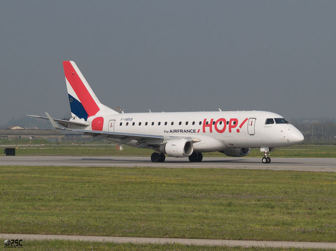 Embraer 170 - MSN 250 - F-HBXB (Hop! livery) @ Aeroporto di Verona © Piti Spotter Club Verona