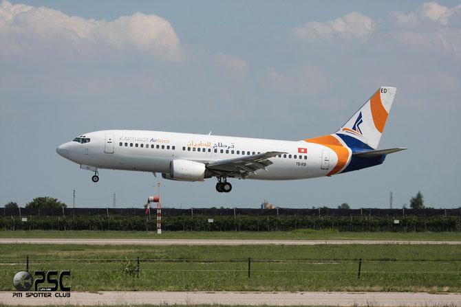 TS-IED B737-33A 25032/2014 Karthago Airlines