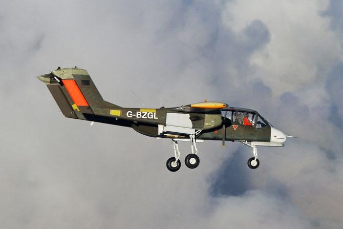 OV-10B Bronco G-BZGL (99 + 26) Copyright @Jessie De Cooman