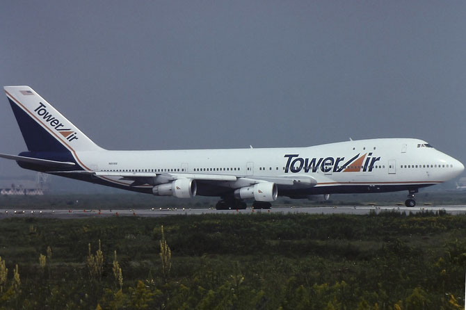 N93104 B747-131 19670/20 Tower Air