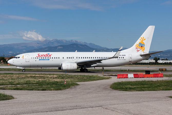 4X-EKR B737-804 30466/505 El Al Israel Airlines (Sundor c/s) @ Aeroporto di Verona © Piti Spotter Club Verona
