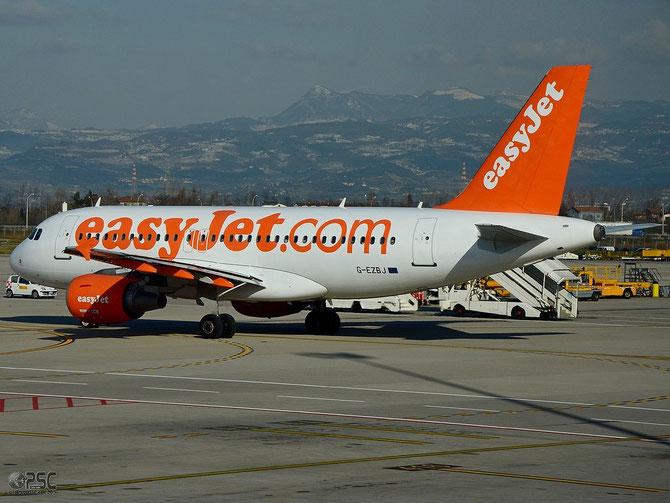 G-EZBJ A319-111 3036 EasyJet Airline @ Aeroporto di Verona © Piti Spotter Club Verona