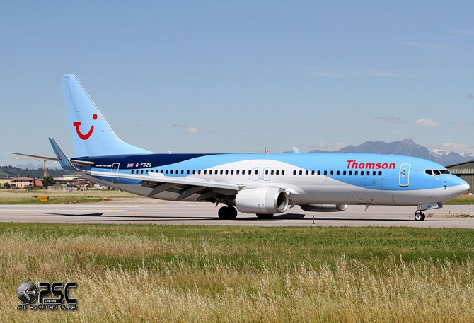 G-FDZG B737-8K5 35139/2538 Thomson Airways