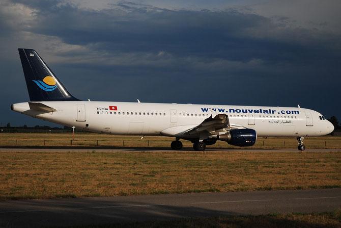 TS-IQA A321-211 970 Nouvelair Tunisie