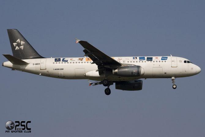 Airbus A320 - MSN 1177 - G-MIDX @ Aeroporto di Verona © Piti Spotter Club Verona