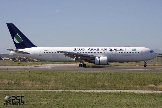Boeing 767 - MSN 28041 - I-AIGG (Saudi Arabian livery)  @ Aeroporto di Verona © Piti Spotter Club Verona