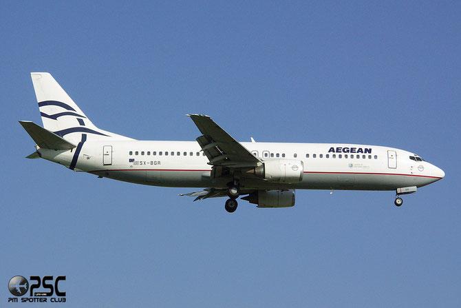 SX-BGR B737-408 25063/2032 Aegean Airlines