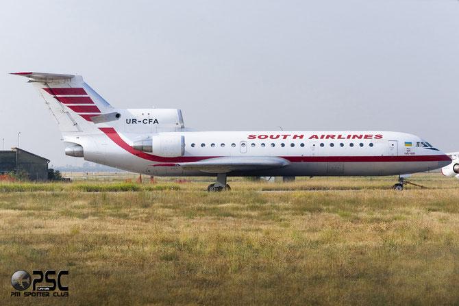 UR-CFA Yakovlev Yak-42D YK42 4520423016269 12-06 L3J   50811C OTL [YG] South Airlines