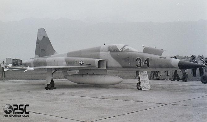 USAF - 74-1534 34 F-5E R1192