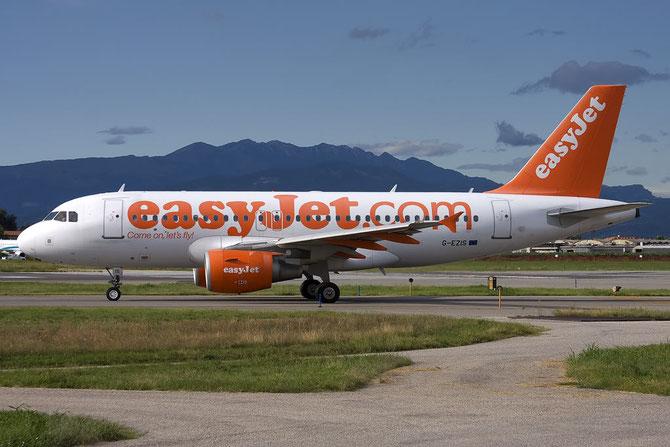 Airbus A319 - MSN 2528 - G-EZIS @ Aeroporto di Verona © Piti Spotter Club Verona