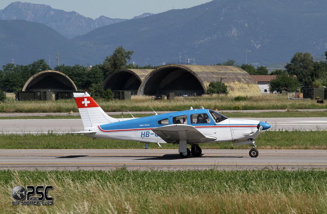 HB-OQN Piper PA-28R-200 Cherokee Arrow 2 P28R 28R-7435093 L1P 4B26A5  Gfeller Jean-Claude, Geneve