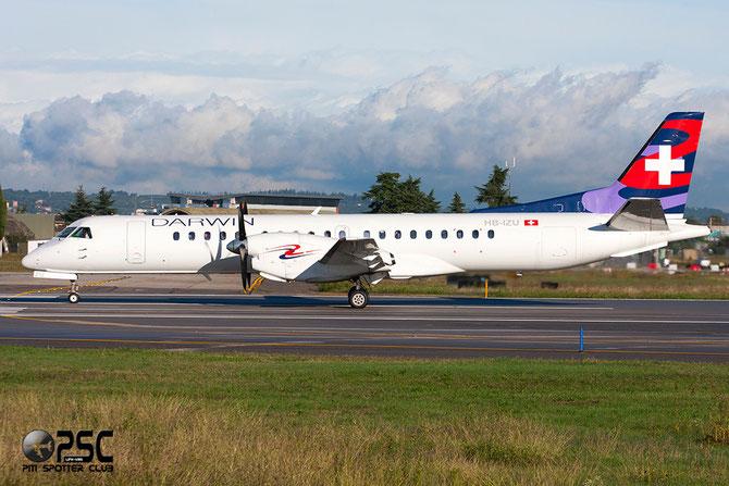 HB-IZU Saab 2000 2000-037 Darwin Airline