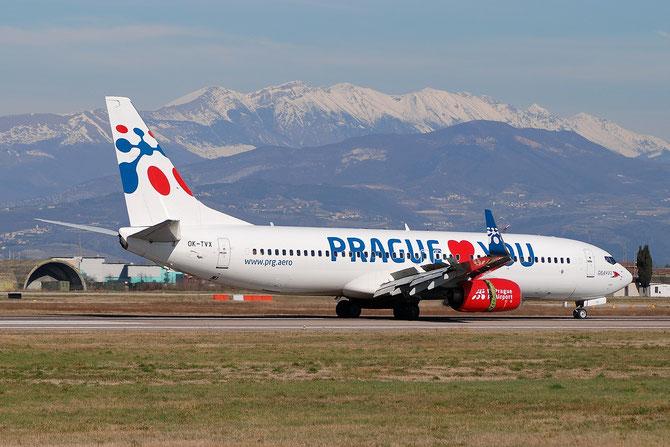 OK-TVX B737-8Z9 33833/1680 Travel Service @ Aeroporto di Verona © Piti Spotter Club Verona