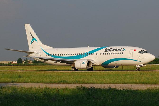 TC-TLD B737-4Q8 28199/2826 Tailwind Airlines @ Aeroporto di Verona © Piti Spotter Club Verona
