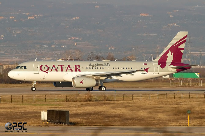 A7-MBK A320-232 (ACJ) 4170 Government of Qatar - Qatar Airways Amiri Flight