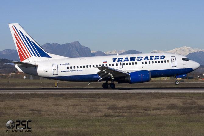 Boeing 737 - MSN 25062 - VP-BPD  @ Aeroporto di Verona © Piti Spotter Club Verona