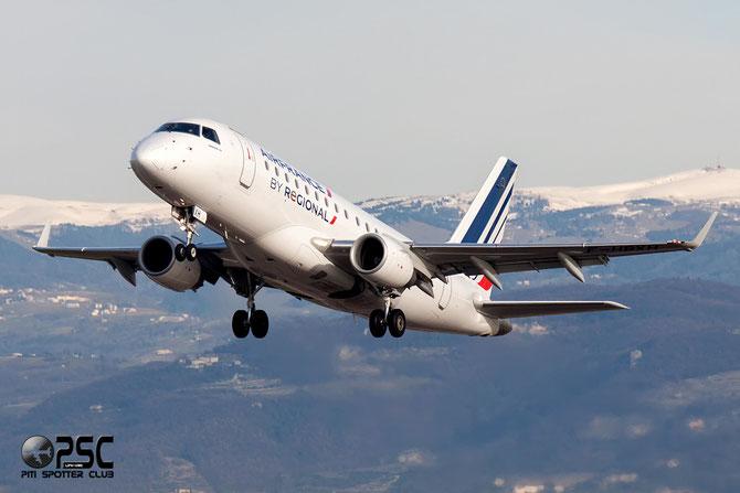 Embraer 170/175 - MSN 307 - F-HBXH  @ Aeroporto di Verona © Piti Spotter Club Verona