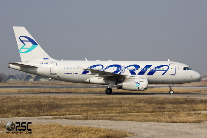 S5-AAP A319-132 4282 Adria Airways