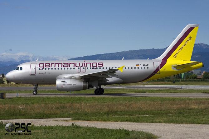 Airbus A319 - MSN 4227 - D-AGWP @ Aeroporto di Verona © Piti Spotter Club Verona