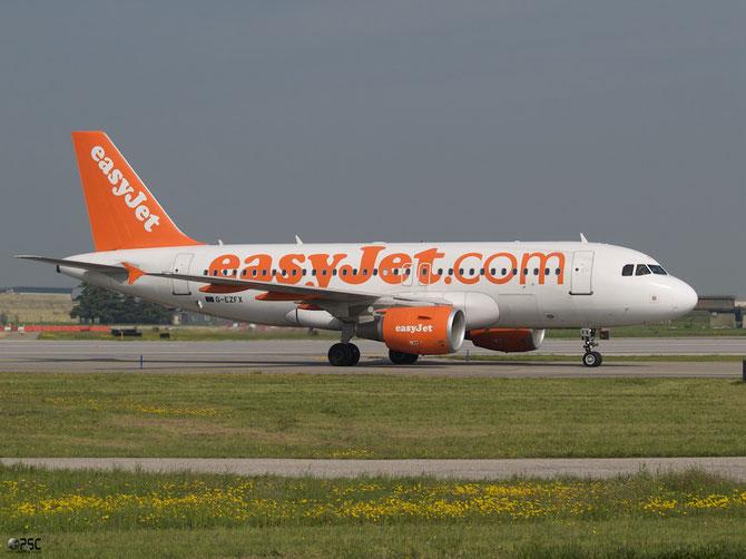 Airbus A319 - MSN 4385 - G-EZFX  @ Aeroporto di Verona © Piti Spotter Club Verona