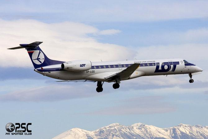 SP-LGG ERJ145MP 145319 LOT Polish Airlines - Polskie Linie Lotnicze