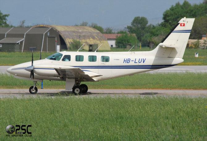 HB-LUV Cessna T303 Crusader C303 T30300058 L2P   4B1F29 303 Flyers AG