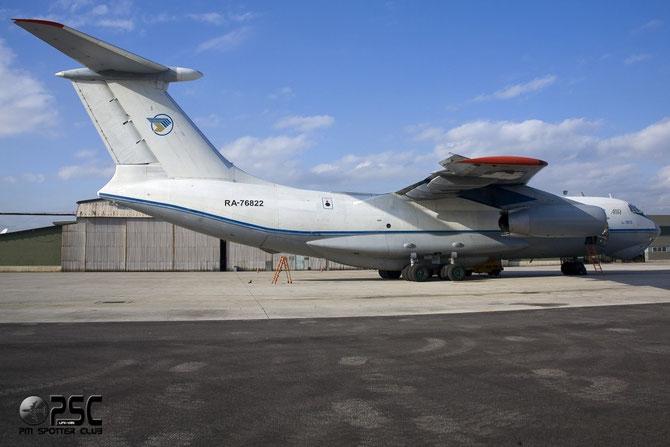 Kosmas Air - Ilyushin IL-76TD - RA-76822 @ Aeroporto di Verona © Piti Spotter Club Verona
